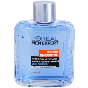 Fotografie Loreal Paris Voda po holení Men Expert (Hydra Energetic After-Shave Splash) 100 ml