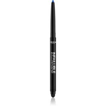 L'Oréal Paris Infaillible eyeliner khol pentru un machiaj fumuriu