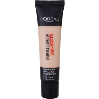 L'Oréal Paris Infallible machiaj cu efect matifiant