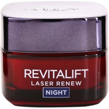 L'Oréal Paris Revitalift Laser Renew crema de noapte impotriva imbatranirii pielii