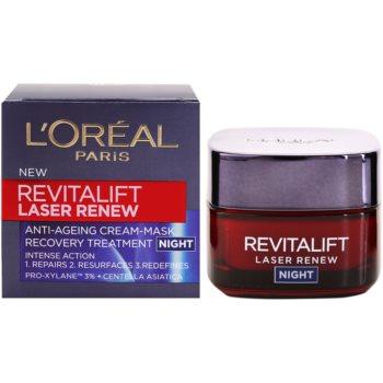 L'Oréal Paris Revitalift Laser Renew нощен крем  против стареене на кожата 3