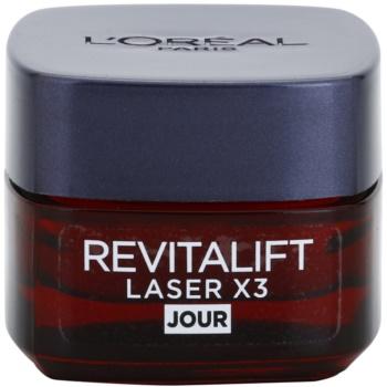 Fotografie L'Oréal Paris Revitalift Laser X3 denní krém proti stárnutí pleti 15 ml