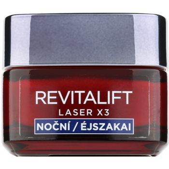 LOréal Paris Revitalift Laser X3 crema regeneratoare de noapte impotriva imbatranirii pielii