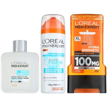 L'Oréal Paris Men Expert Hydra Sensitive Kosmetik-Set  II.