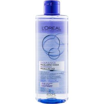 L'Oréal Paris Micellar Water apa micelara 2 in 1 pentru toate tipurile de ten, inclusiv piele sensibila
