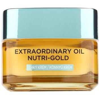 LOréal Paris Extraordinary Oil Nutri-Gold Crema-ulei hranitoare