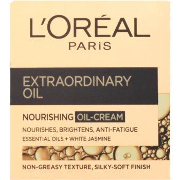 L'Oréal Paris Extraordinary Oil creme com óleo nutritivo contra marcas de cansaco 2