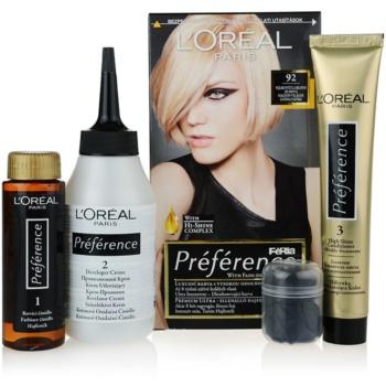 Fotografie L'Oréal Paris Préférence barva na vlasy odstín 92