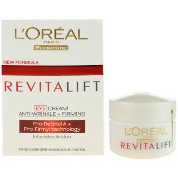 L'Oréal Paris Revitalift crema de ochi 1