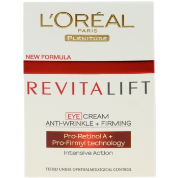 L'Oréal Paris Revitalift crema de ochi 2