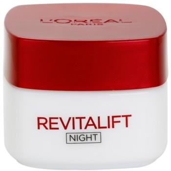 Fotografie L'Oréal Paris Revitalift noční zpevňující a protivráskový krém pro všechny typy pleti 50 ml