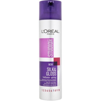 LOréal Paris Studio Line Silk&Gloss Volume spray pentru volum si stralucire