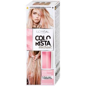 L'Oréal Paris Colorista Washout Auswaschbare Farbe für das Haar Farbton Pink 80 ml
