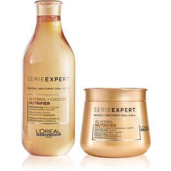 L'Oréal Professionnel Serie Expert Nutrifier ambalaj economic II. (pentru par uscat)