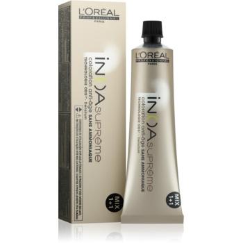 Fotografie L'Oréal Professionnel Inoa Supreme barva na vlasy bez amoniaku odstín 7,34 Cognac Malicioso 60 g