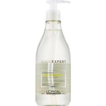 L'Oréal Professionnel Série Expert Pure Resource sampon pentru curatare pentru par si scalp gras  500 ml