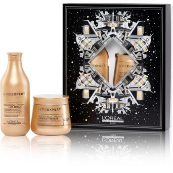 L'Oréal Professionnel Serie Expert Absolut Repair Gold Quinoa + Protein set cadou (pentru par foarte deteriorat) imagine