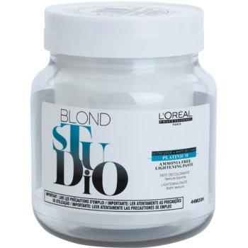 L'Oréal Professionnel Blond Studio Platinium изсветляваща паста без амоняк