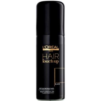 L'Oréal Professionnel Hair Touch Up vlasový korektor odrostů a šedin odstín Black 75 ml