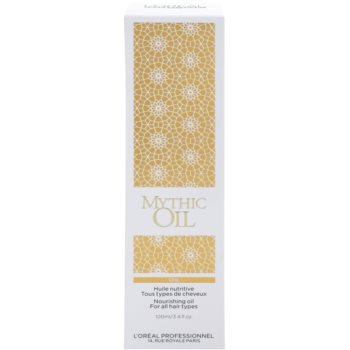 L'Oréal Professionnel Mythic Oil Nourishing Oil For All Types Of Hair 3