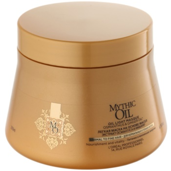 L'Oréal Professionnel Mythic Oil masca sub forma de ulei pentru par subtire