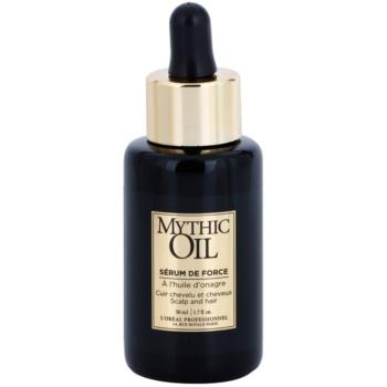 Fotografie L'Oréal Professionnel Mythic Oil posilující sérum na vlasy a vlasovou pokožku 50 ml