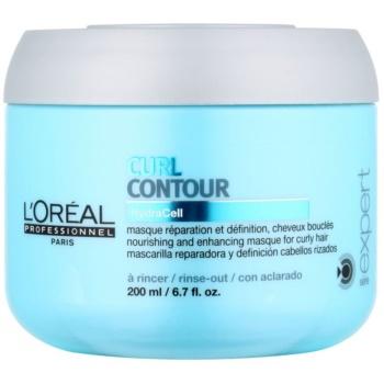 L'Oréal Professionnel Série Expert Curl Contour hranilna maska za valovite lase in lase s trajno ondulacijo