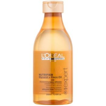 Fotografie L'Oréal Professionnel Série Expert Nutrifier vyživující šampon pro suché a poškozené vlasy bez silikonů 250 ml