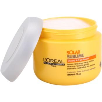 L'Oréal Professionnel Série Expert Solar Sublime подхранваща маска  за изтощена от слънце коса 1