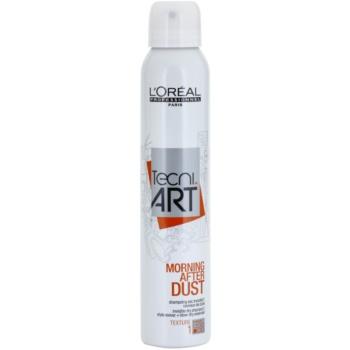 Fotografie L'Oréal Professionnel Tecni Art Morning After Dust suchý šampon ve spreji 200 ml