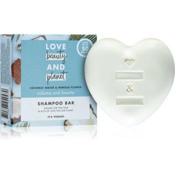 Love Beauty & Planet Volume and Bounty șampon solid pentru păr cu volum poza noua