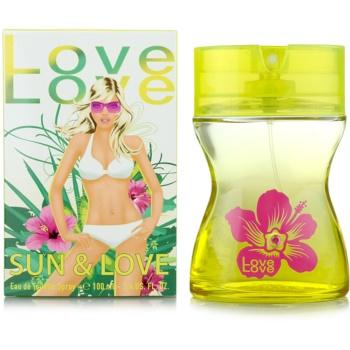 Love Love Sun & Love eau de toilette pentru femei 100 ml
