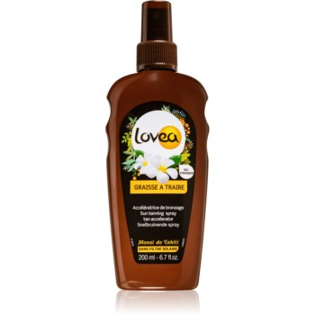 Lovea Tanning Gel Monoi spray pentru accelerarea bronzului imagine produs