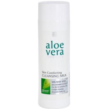 LR Aloe Vera Face Care delikatne mleczko oczyszczające do skóry suchej i wrażliwej