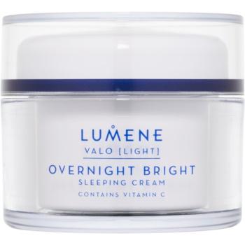 Fotografie Lumene Valo [Light] rozjasňující noční krém s vitaminem C 50 ml