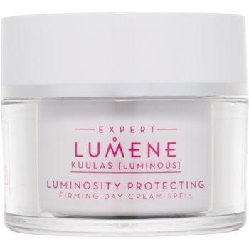 Lumene Kuulas [Luminous] crema de zi pentru fermitate SPF 15