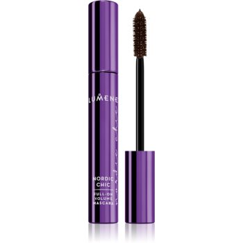 Lumene Nordic Chic Full-on Volume Mascara Mascara für XXL-Volumen Farbton Deep Brown