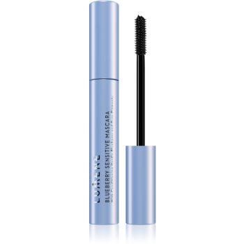 Lumene Blueberry Sensitive Mascara pflegende Mascara für empfindliche Augen Farbton Black