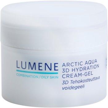 Lumene Arctic Aqua hydratační gel krém pro smíšenou a mastnou pleť