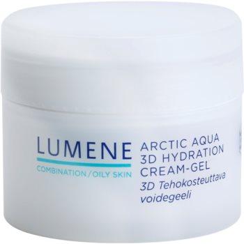 Lumene Arctic Aqua vlažilna gel krema za mešano in mastno kožo