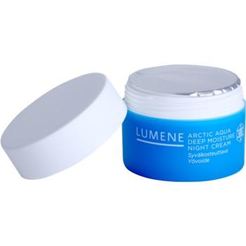 Lumene Arctic Aqua creme de noite hidratação profunda para pele normal e seca 1