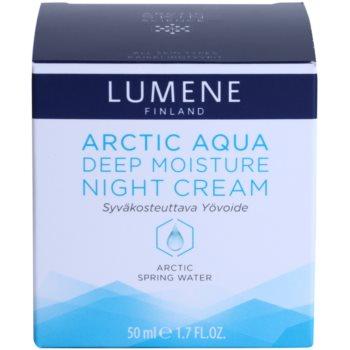 Lumene Arctic Aqua creme de noite hidratação profunda para pele normal e seca 4
