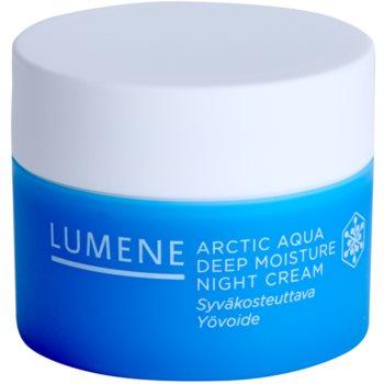 Lumene Arctic Aqua głęboko nawilżający krem na noc do cery normalnej i suchej