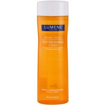 Lumene Bright Touch osvežilna voda za obraz za normalno do mešano kožo