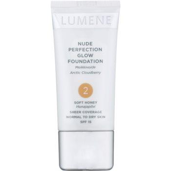 Lumene Nude Perfection make up hidratant impotriva imperfectiunilor pielii