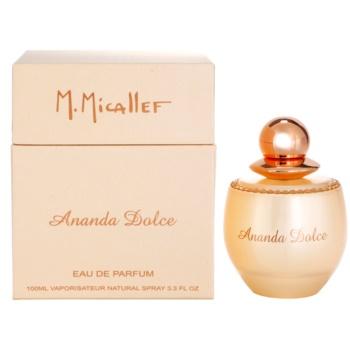 M. Micallef Ananda Dolce Eau De Parfum pentru femei 100 ml