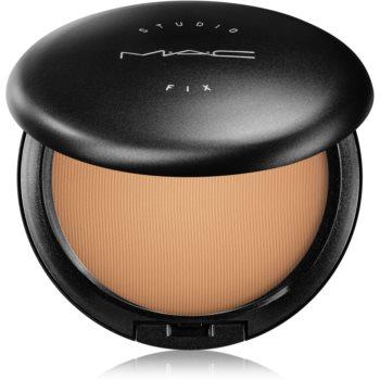 MAC Studio Fix Powder Plus Foundation kompaktní pudr a make-up 2 v 1 odstín C7 15 g