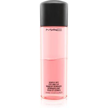 MAC Cosmetics Gently Off Eye and Lip Makeup Remover douã faze pentru îndepãrtarea machiajului de pe ochi ?i buze imagine produs