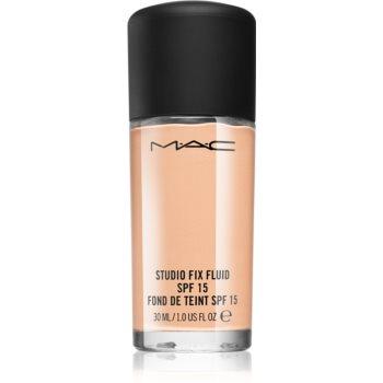 MAC Cosmetics Studio Fix Fluid fond de ten matifiant SPF 15 poza noua