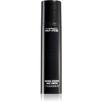 MAC Cosmetics Prep + Prime Natural Radiance baza de machiaj pentru ten gras și mixt